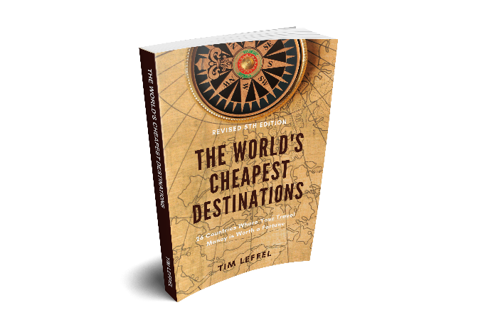 The World's Cheapest Destinations Book 5th Edition